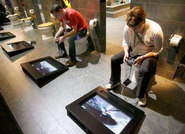 Herní záchod